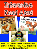 Interactive Read Aloud -Bad Case of Stripes, My Lucky Day,