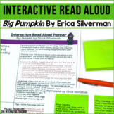 Halloween Read Aloud: Big Pumpkin, Interactive Read Aloud Lesson Plans