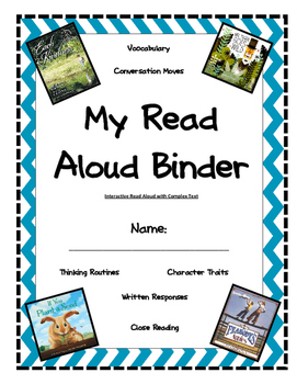 Interactive Read Aloud Binders (with complex texts)