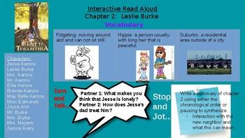 Interactive Read Aloud- Bridge to Terabithia/ Number the Stars/ Weather Unit