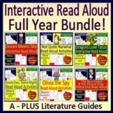 Interactive Read Aloud Bundle - Full Year of Activities an