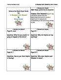 Interactive Read Aloud Cards for A Weekend with Wendell