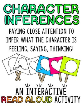Interactive Read Aloud: Character Inferences