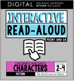 Interactive Read Aloud - Characters (3rd Grade)