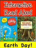 Earth Day Interactive Read Aloud! The Lorax and The Great