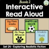 Interactive Read Aloud - Grade 2 - Exploring Realistic Fic