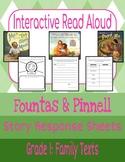 Interactive Read-Aloud: Family Texts Grade 1 (Fountas & Pinnell)