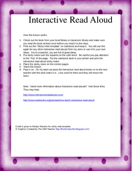 Interactive Read Aloud:  Forces Make Things Move.