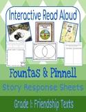 Interactive Read-Aloud: Friendship Texts Grade 1 (Fountas & Pinnell)