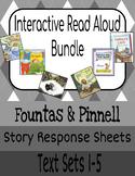 Interactive Read-Aloud: Grade 1 (Fountas & Pinnell) Text Sets 1-5