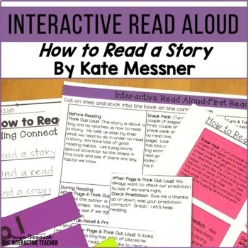 Read Aloud: How To Read a Story, Interactive Read Aloud Lesson Plans
