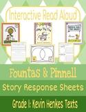 Interactive Read-Aloud: Kevin Henkes Texts Grade 1 (Fountas & Pinnell)