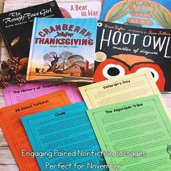 Interactive Read Aloud Lessons & Paired Nonfiction Passages Year Long Bundle