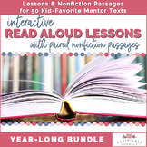 Interactive Read Aloud Lessons & Paired Passage Bundle