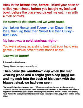 Interactive Read Aloud Lesson Plan and Extensions for Trouper