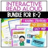 Interactive Read Aloud Lesson Plan BUNDLE for Kindergarten