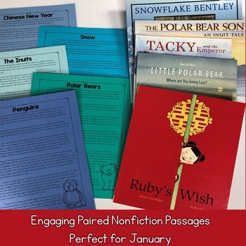 Interactive Read Aloud Lessons & Paired Nonfiction Passages January