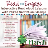 Interactive Read Aloud Lessons & Paired Passages March