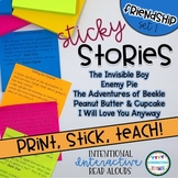 Interactive Read Aloud Lessons- Sticky Stories- Friendship Set 1