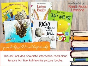Interactive Read Aloud Lessons / Talking Points for Read Aloud Lessons VOLUME 1