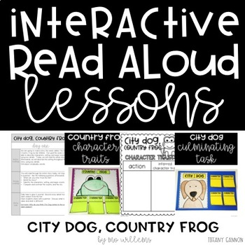 Interactive Read Aloud Lessons for City Dog, Country Frog