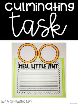Interactive Read Aloud Lessons for Hey, Little Ant