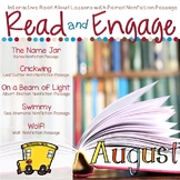 Interactive Read Aloud Lessons & Paired Nonfiction Passages August