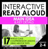 Interactive Read Aloud - Main Idea & Key Details (DISTANCE LEARNING)