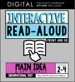 Interactive Read Aloud - Main Idea & Key Details (3rd Grade)
