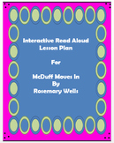 Interactive Read Aloud Lesson Plan McDuff Moves In Smartbo