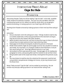Interactive Read Aloud Mini Lessons: Caps for Sale