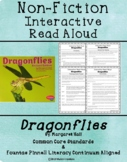 Non-Fiction Interactive Read Aloud Mini Lessons: Dragonflies by Margaret Hall