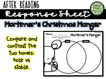 Interactive Read Aloud: Mortimer's Christmas Manger