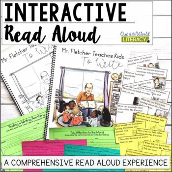 Interactive Read Aloud: Mr  Fletcher Teaches Kids to Write
