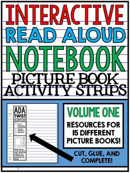 Interactive Read Aloud Notebook - Picture Book Activity Strips