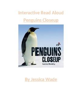 Interactive Read Aloud: Penguins 2 week Unit