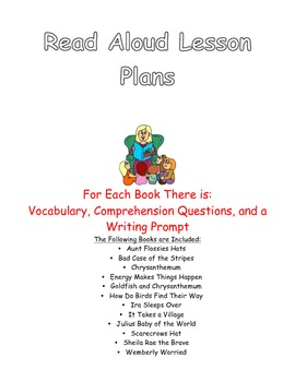 Interactive Read Aloud Plans for Picture Books