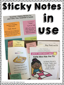 Interactive Read Aloud Questions with Katie Woo has the Flu