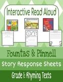 Interactive Read-Aloud: Rhyming Texts Grade 1 (Fountas & Pinnell)