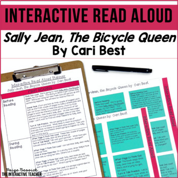 Read Aloud: Sally Jean, the Bicycle Queen Interactive Read Aloud Lesson Plans