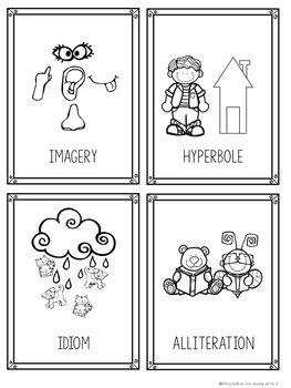Interactive Read Aloud Signs: Figurative Language