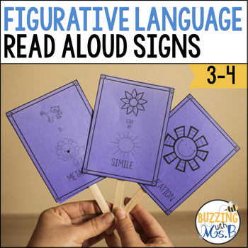 Interactive Read Aloud Signs: Figurative Language