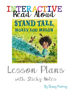 Interactive Read Aloud: Stand Tall Molly Lou Melon - Character Traits