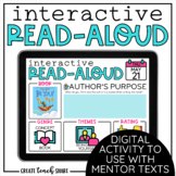 Interactive Read-Aloud | Use with Google Slides | Distance