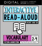 Interactive Read Aloud - Vocabulary (3rd Grade)