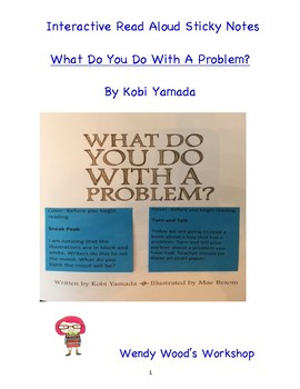 Interactive Read Aloud - What Do You Do With A Problem by Kobi Yamada