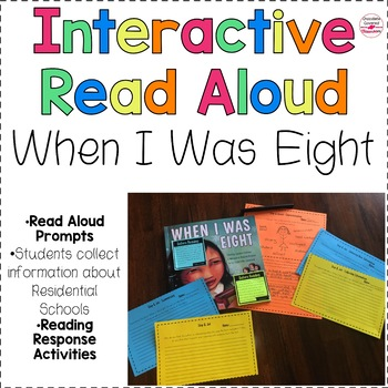 """Interactive Read Aloud """"When I Was Eight"""" A Residential Schools Story"""