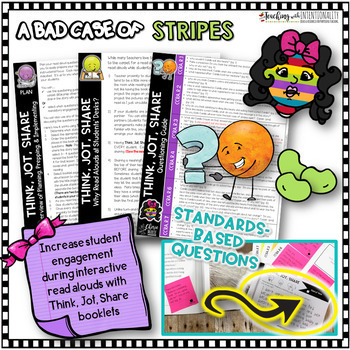 Interactive Read Aloud and Book Companion: Bad Case of Stripes RL3.2 3.3 3.6 3.7
