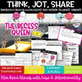 Recess Queen Activities Read Aloud Book Companion RL3.2 RL3.3 RL3.6 RL3.7