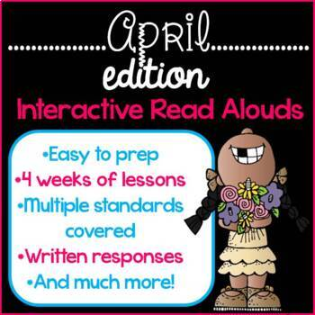 Interactive Read Alouds {April Edition}